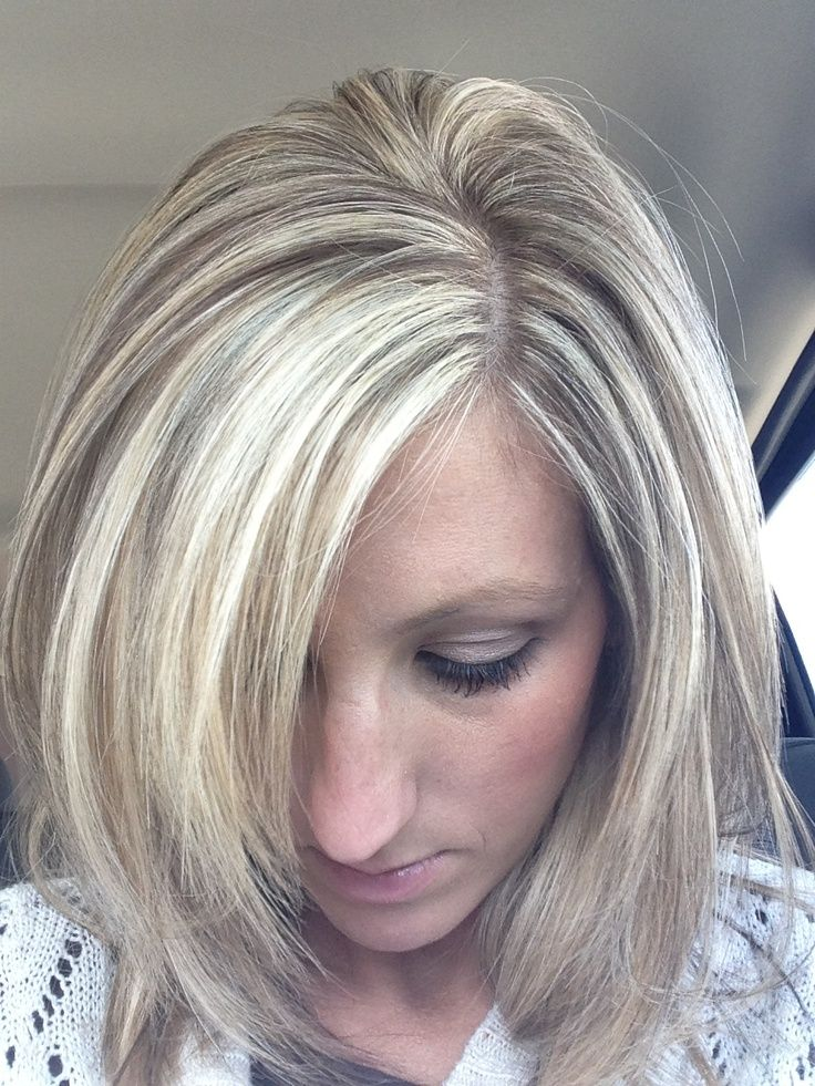 lowlights for blonde hair | Blonde highlights with brown ...