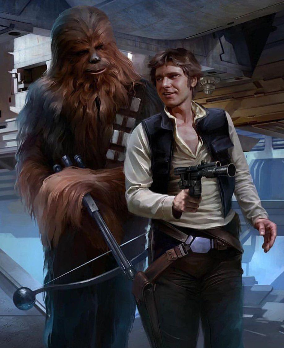 Contraband By Jerry Vanderstelt Giclee On Canvas Star Wars Art Star Wars Illustration Star Wars Artwork