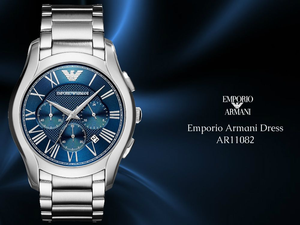 819f32b38139 Emporio Armani Dress AR11082 for  men at The Prime - Luxury Watch Boutique