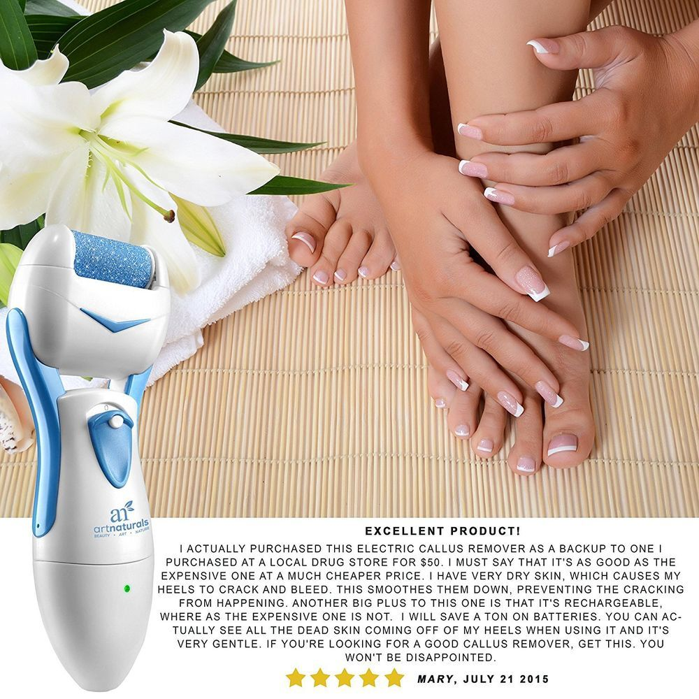 callus remover rechargeable electric removes toughened feet skin spa