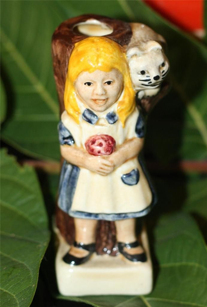 ALICE in Wonderland Mini Toby Jug by Tony Wood Studio Staffordshire England