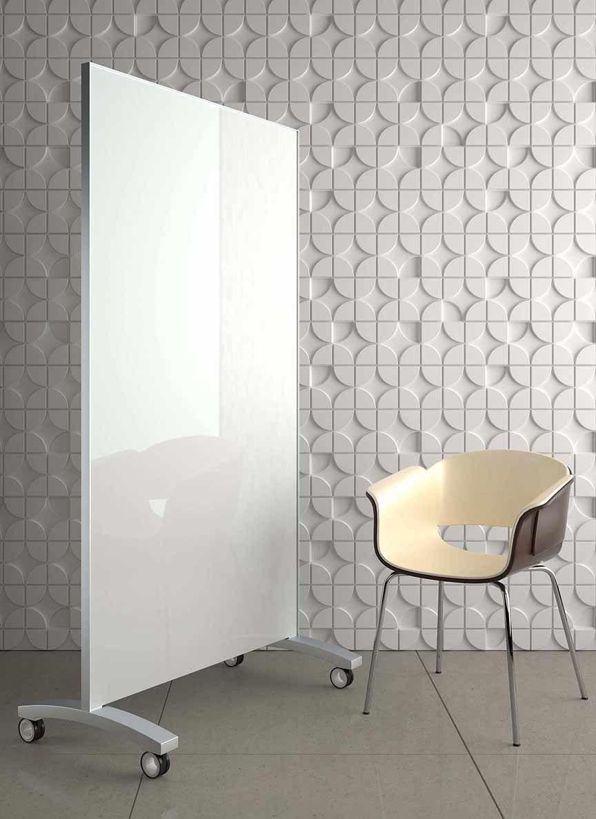 white glass mobile marker board   Office Ideas   Pinterest   Marker ...