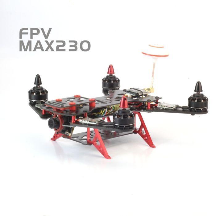Max230 230mm Carbono Caja De Marco De La Fibra Mini Quadcopter ...