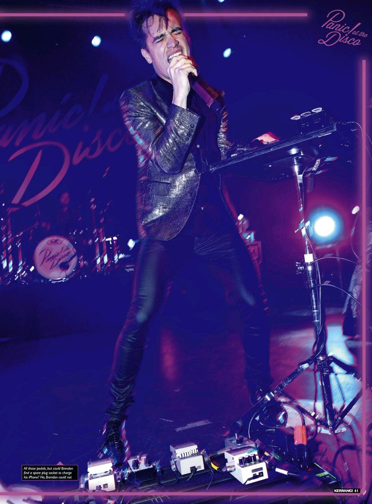 Panic At The Disco S Brendon Urie Interview On Disco Panic At The Disco Brendon Urie
