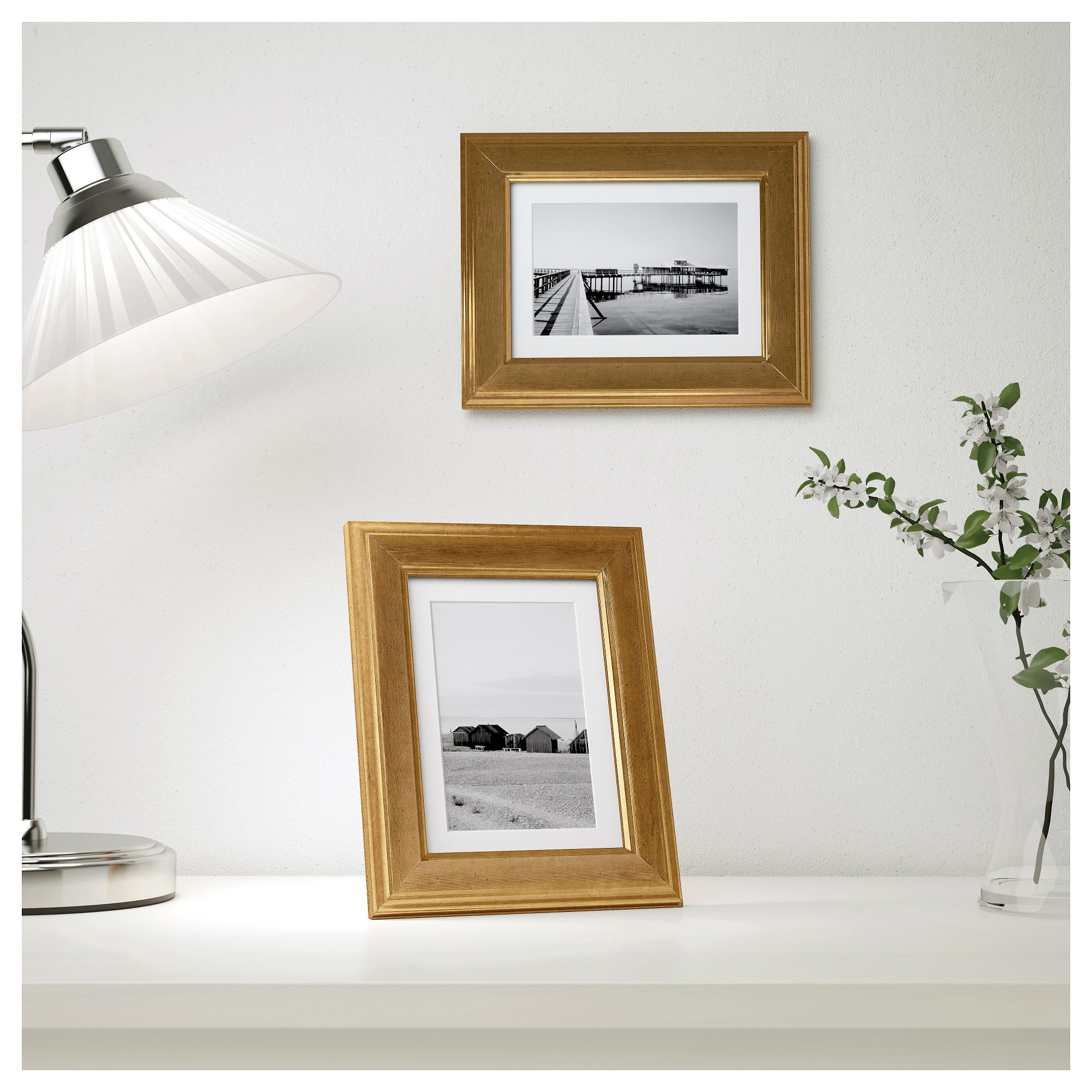IKEA VIRSERUM frame PH-neutral mount; will not discolour the picture ...