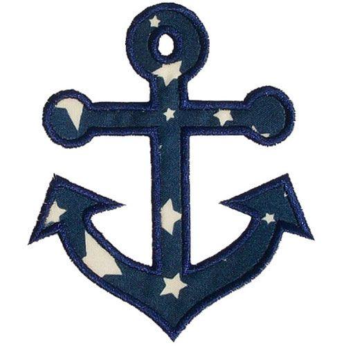 Anchor Applique by FREEBIE Sew Pinterest