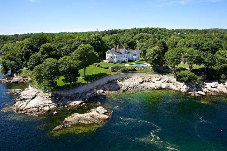 15 spectacular oceanfront massachusetts mansions ocean
