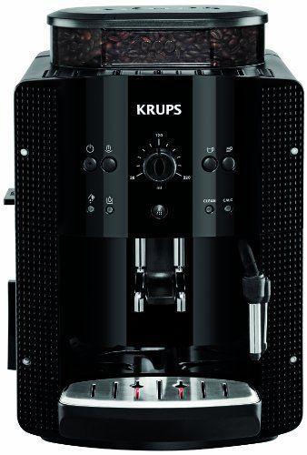 Krups Ea8108 Espresso Kaffee Vollautomat Mit Cappuccinoplus Milchduse Schwarz Automatic Coffee Machine Coffee Machine Coffee