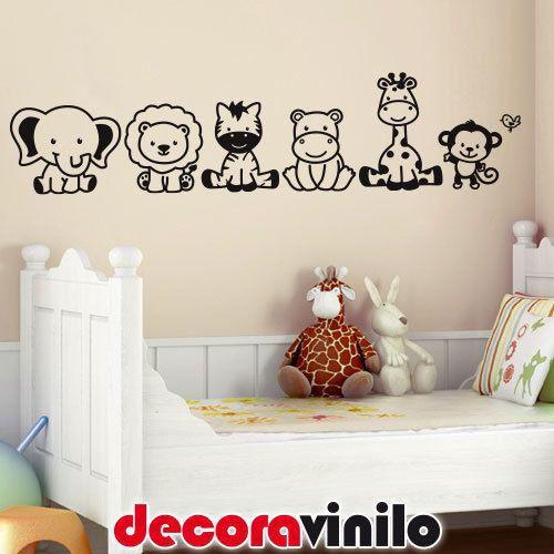 Vinilo decorativo pegatina pared wall sticker infantil - Decoracion habitacion bebe vinilos ...