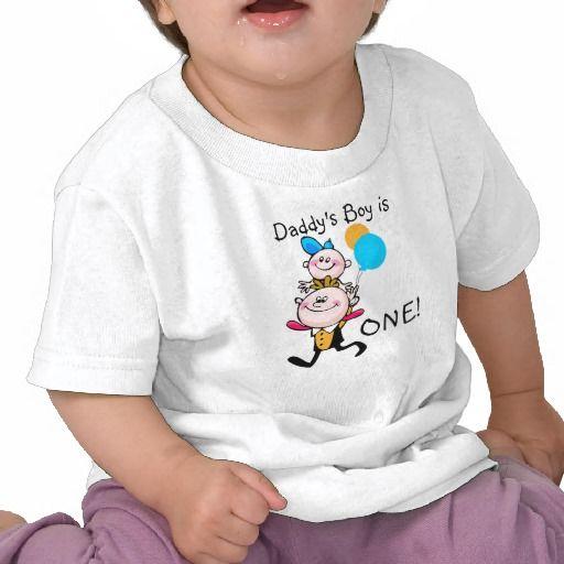 Daddys Boy Customizable Birthday T-shirt
