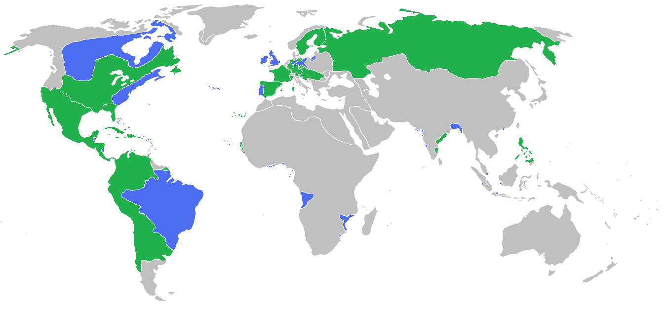 Map The Actual First World War Participants In The Seven Years War 1756 1763 Seven Years War World Map Map [ 628 x 1357 Pixel ]