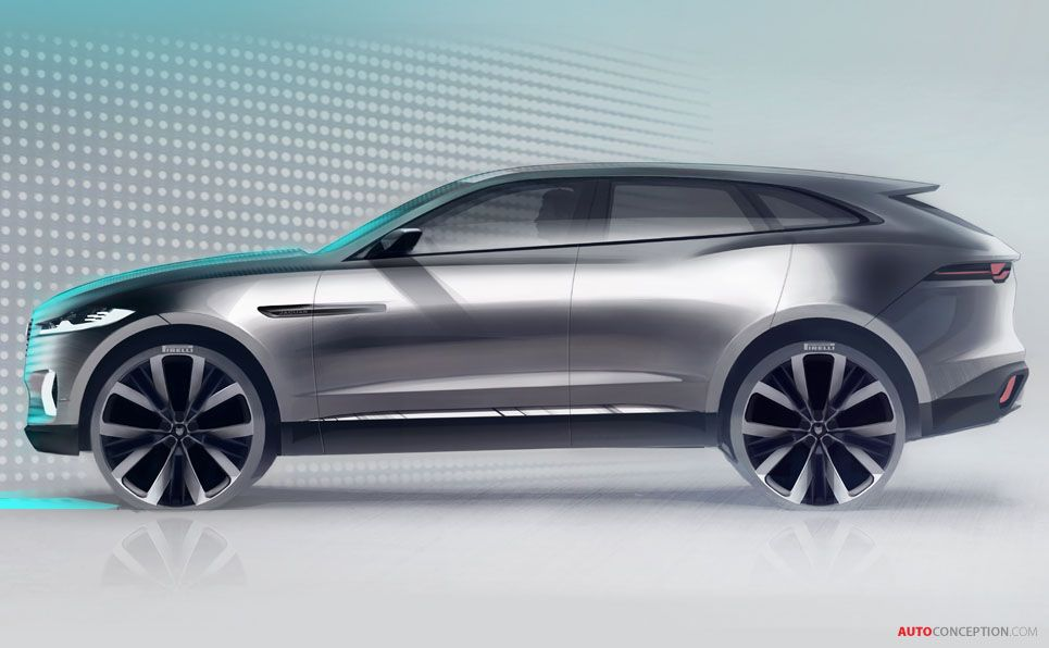 Jaguar C X17 Concept