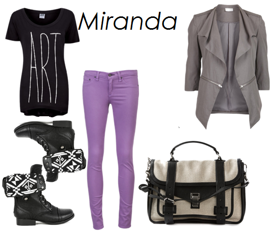 Miranda, an outfit for a friend.
