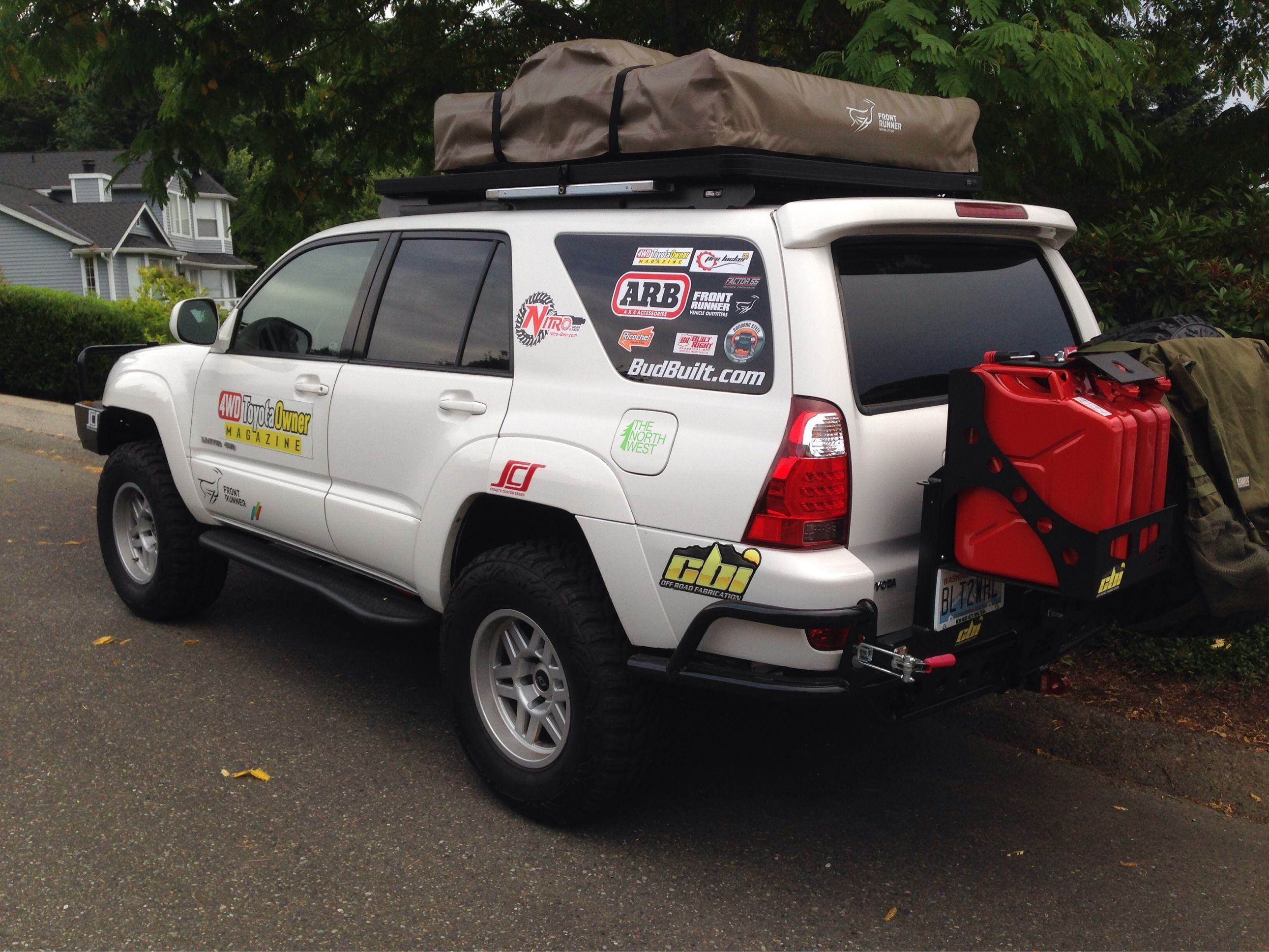 Check Out The 4wd Toyota Owner 4th Gen 4runner Build Arb