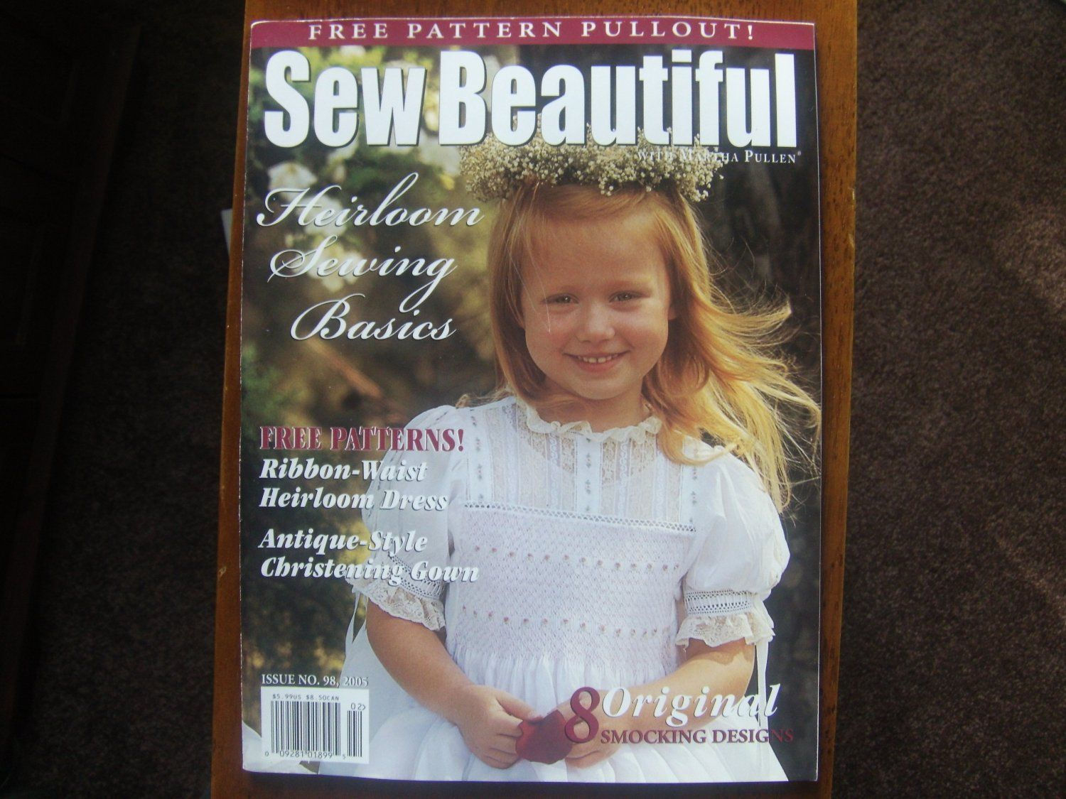 2005 Sew Beautiful Back Issues Heirloom Sewing Basics Heirloom Sewing