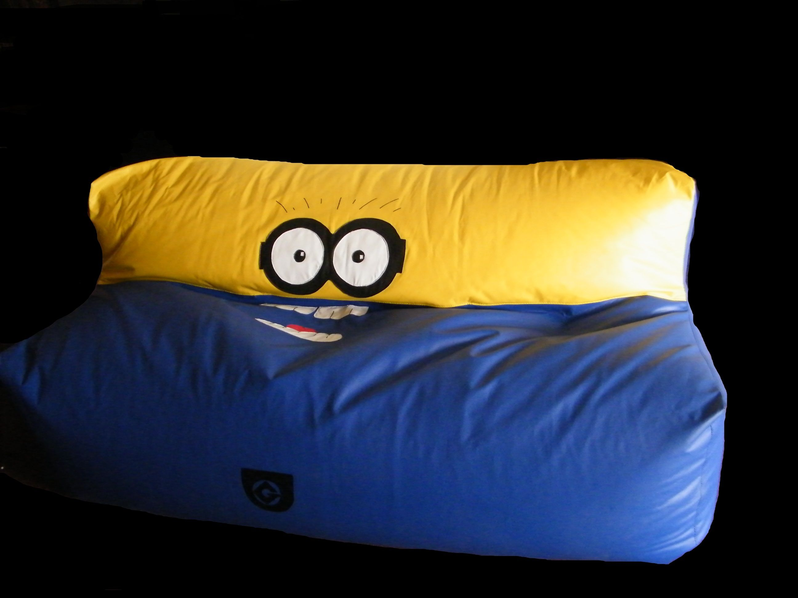 sillon puff minion, mi villano favorito