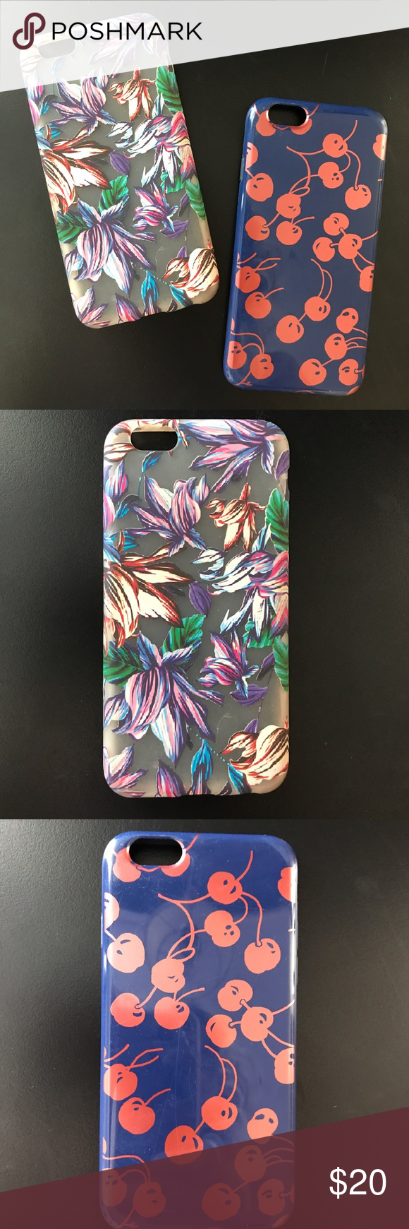 Bundle of two J. Crew IPhone 6/6s Phone Covers   6s phone ...