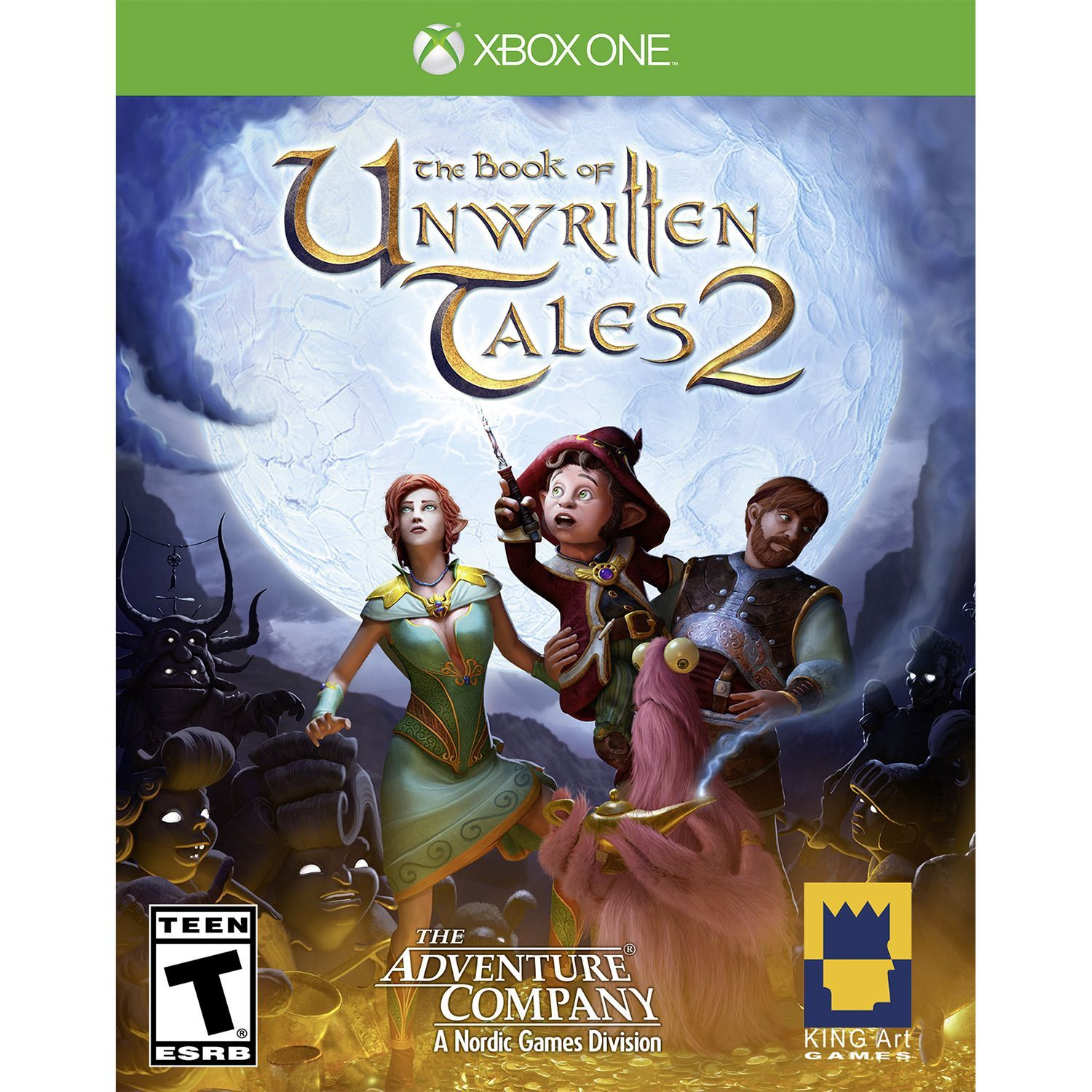 Book Of Unwritten Tales 2 XBX1, Blue Nordic games, Xbox