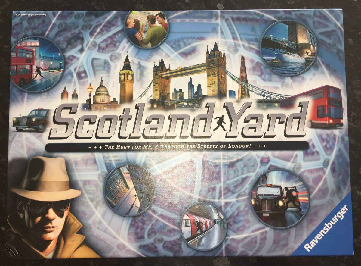 Scotland Yard Family Board Game from Ravensburger (With