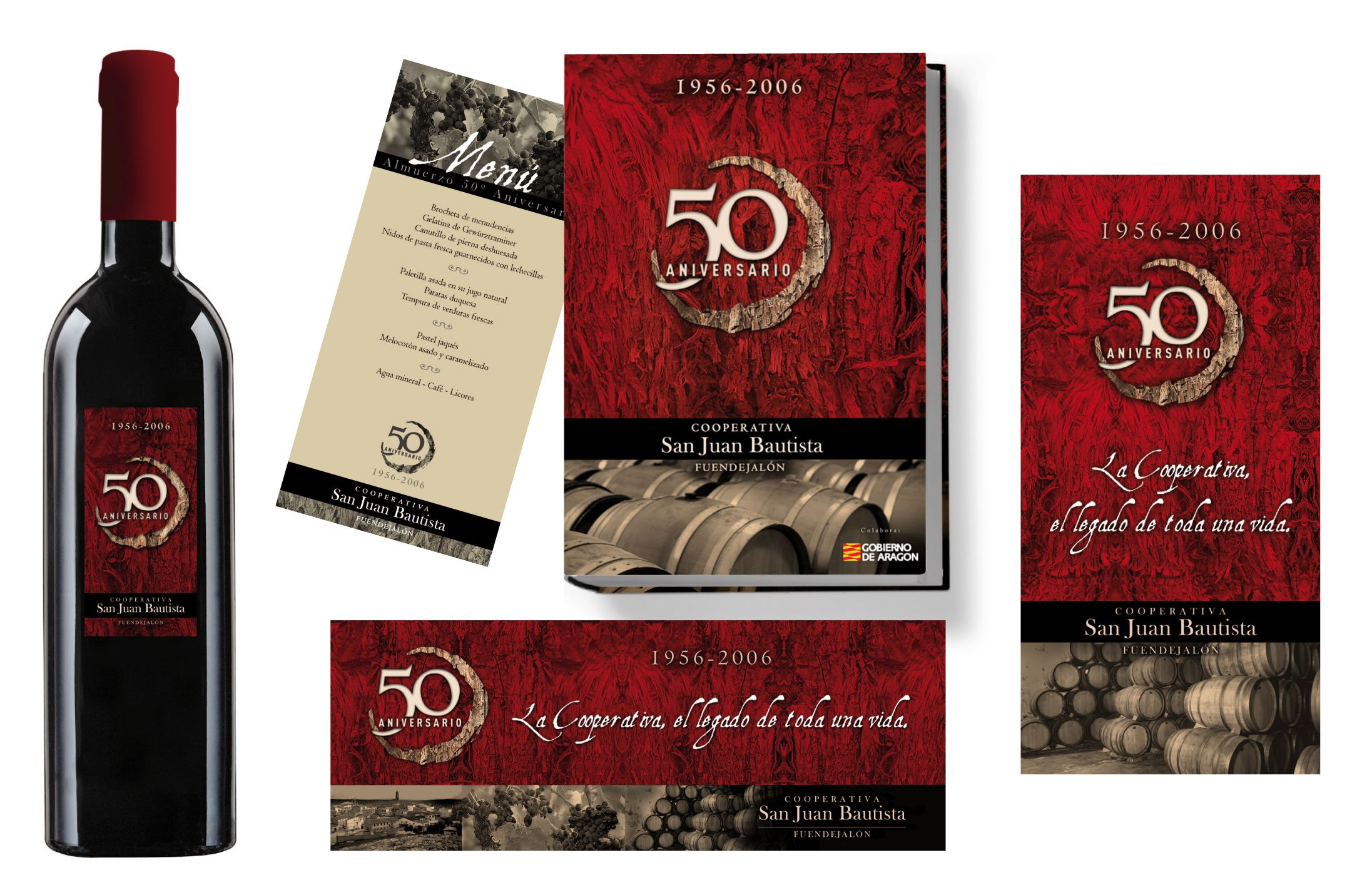 Elementos Aniversario Cooperativa Fuendejalon 50º Aniversario 50º Aniversario 50 Aniversario Aniversario
