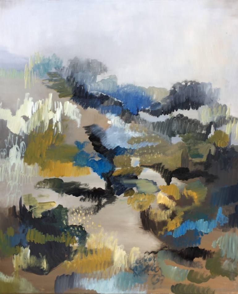 """Saatchi Art Artist Naomi Hughes; Painting, """"Cloudburst No. 1"""" #art"""