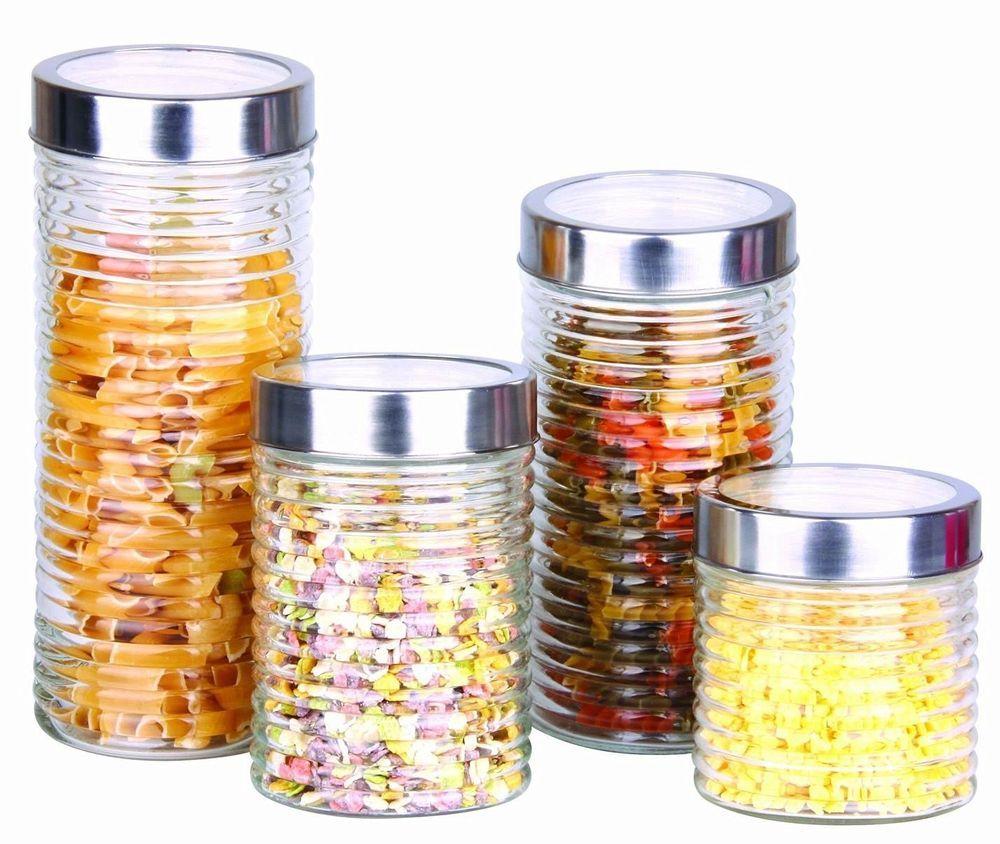 Kitchen Dry Food Rice Spaghetti Pasta Storage Snacks Container Herbs