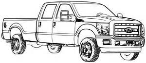 Ford F250 Coloring Page Printable Coloring Pages Truck