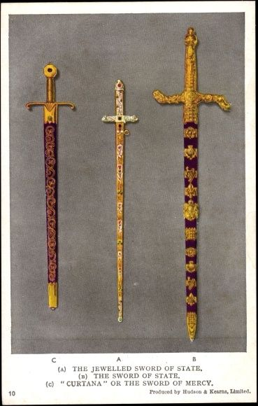 """The """"Sword of Mercy"""" or """"Edward the Confessor's sword ..."""