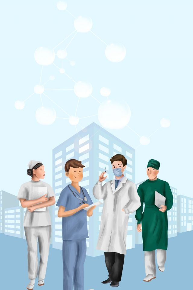 World First Aid Day Blue Nurse Medical Staff Background ...