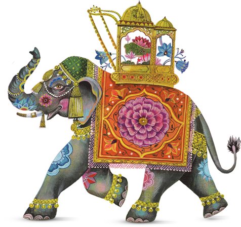 Macy S Spring 2015 Flower Show Indian Elephant Art Elephant Illustration Elephant Painting Please remember to share it with your. elephant painting