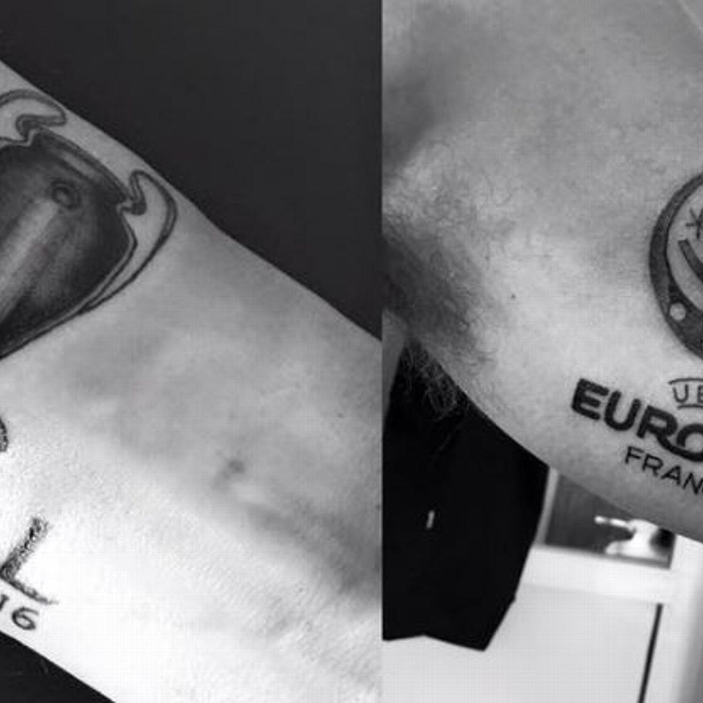 Mark Clattenburg Tattoos
