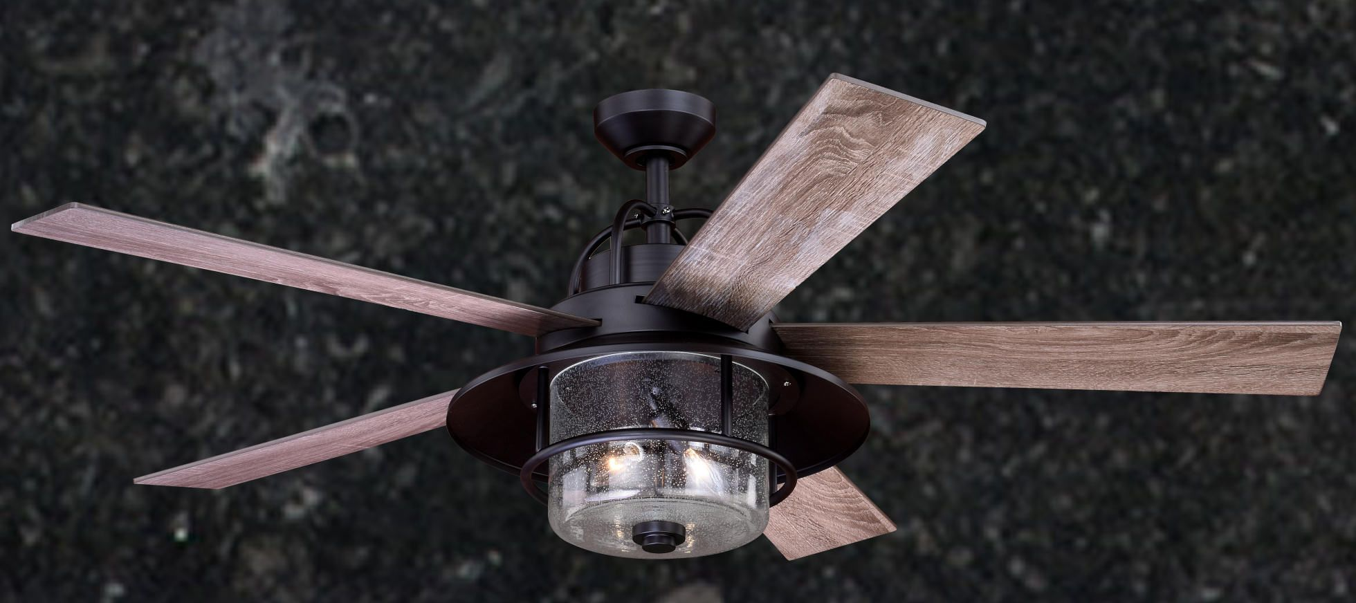 Lake Home Rustic Nautical Indoor Outdoor Ceiling Fan Outdoor