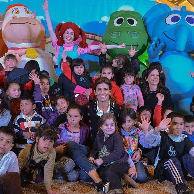 Alegría, color, música y todo el amor de los chicos de los comedores infantiles.
