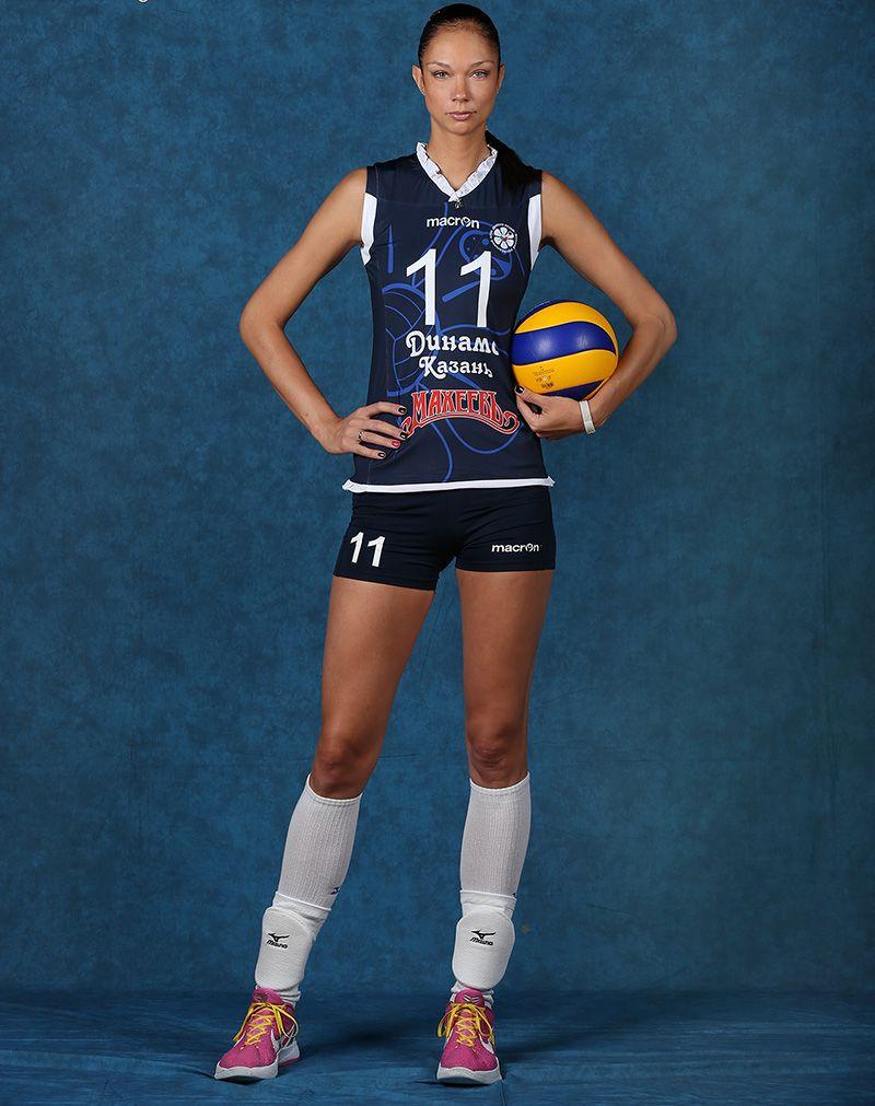 Ekaterina Gamova 2m02 In 2020 Volleyball Sports Sport Fitness