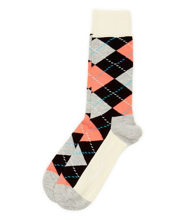 Loving this Gray & Pink Argyle Socks - Adult on #zulily! #zulilyfinds