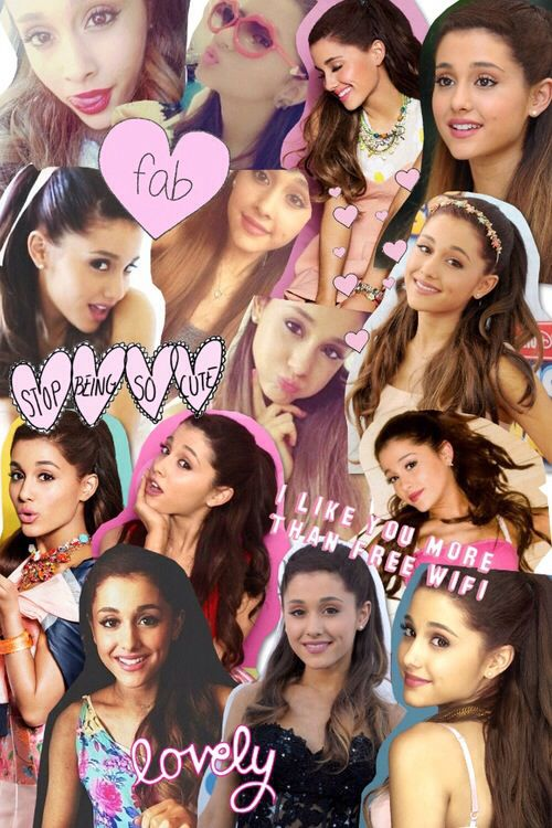 Ariana grande photo collage!!! | Erin in 2019 | Pinterest