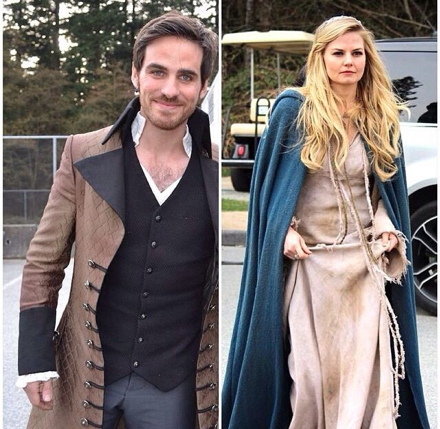 New outfits for Hook and Emma!