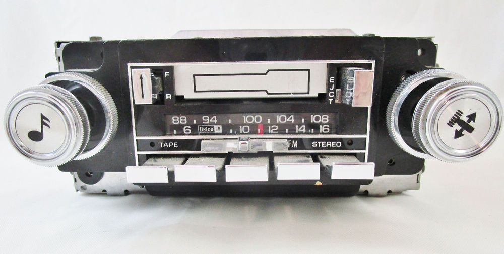 Vintage Delco GM Cassette Car Radio 16020161 UNTESTED for parts or ...