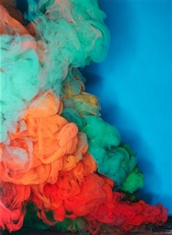 Colored Smoke by Henrik Sorensen