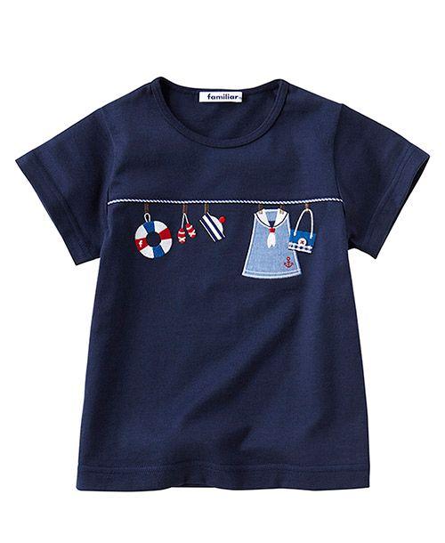 Tシャツ(半袖)(familiar toddler)