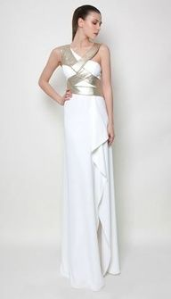 Greece Influenced Wedding Dresses