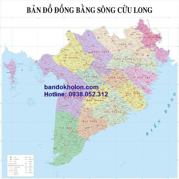 Bản đồ Cac Tỉnh Miền Tay Khổ Lớn Chi Tiết đầy đủ Dễ Hiểu Bản đồ Việt Nam Bản đồ Thế Giới