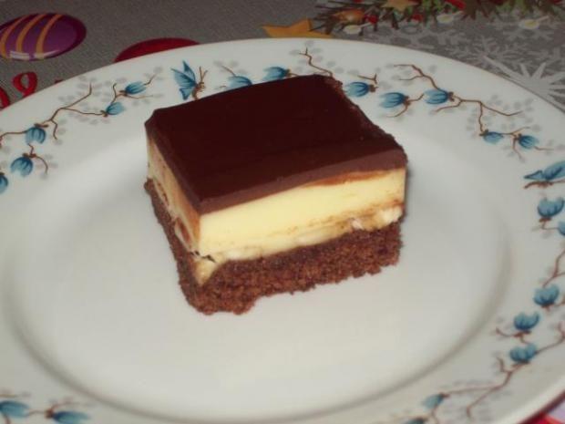 chladivý cokoládovo- banánovo -vanilkovo- tvarohový kolácik, recept | Naničmama.sk
