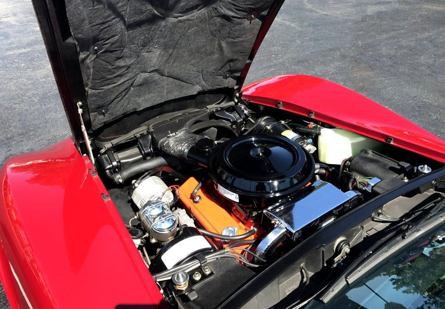 one of the cleanest 1976 corvette motors and engine bays you ll ever rh pinterest com