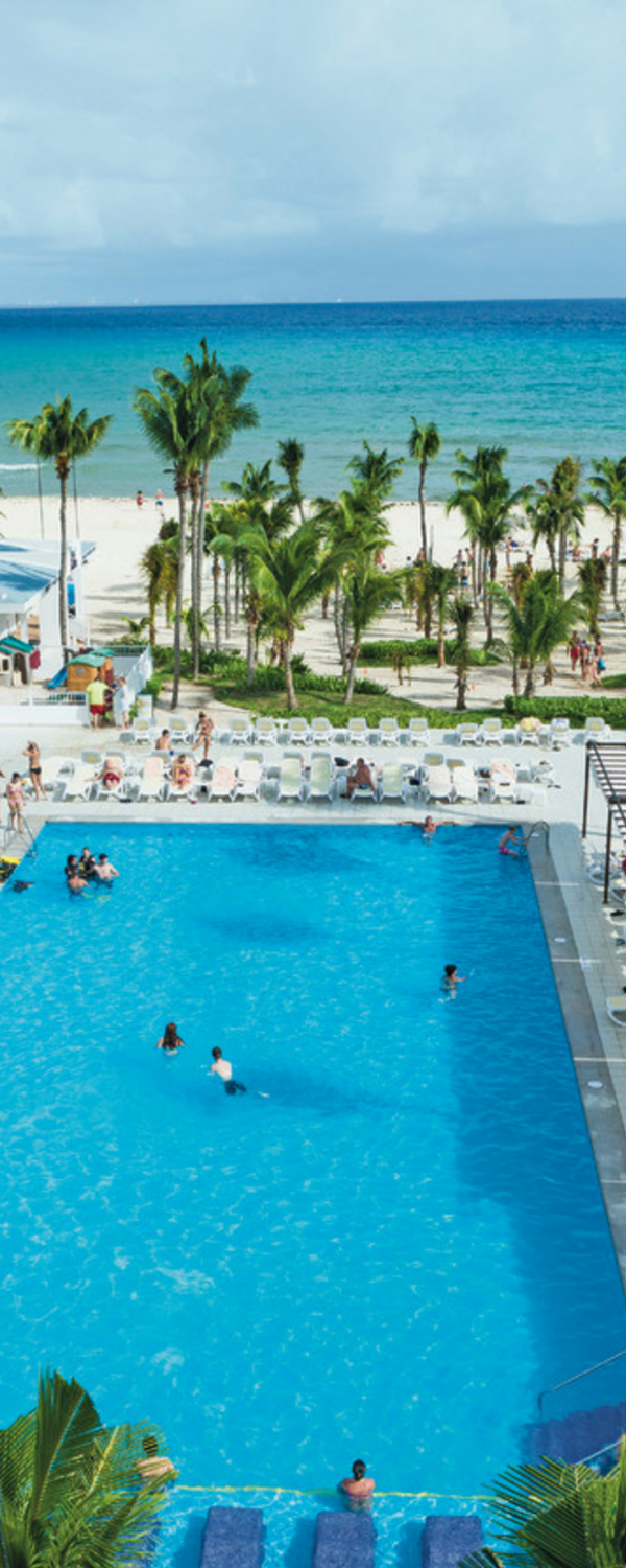 Playacar Beach - Playa del Carmen, Mexico - Riu Playacar - All Inclusive by RIU