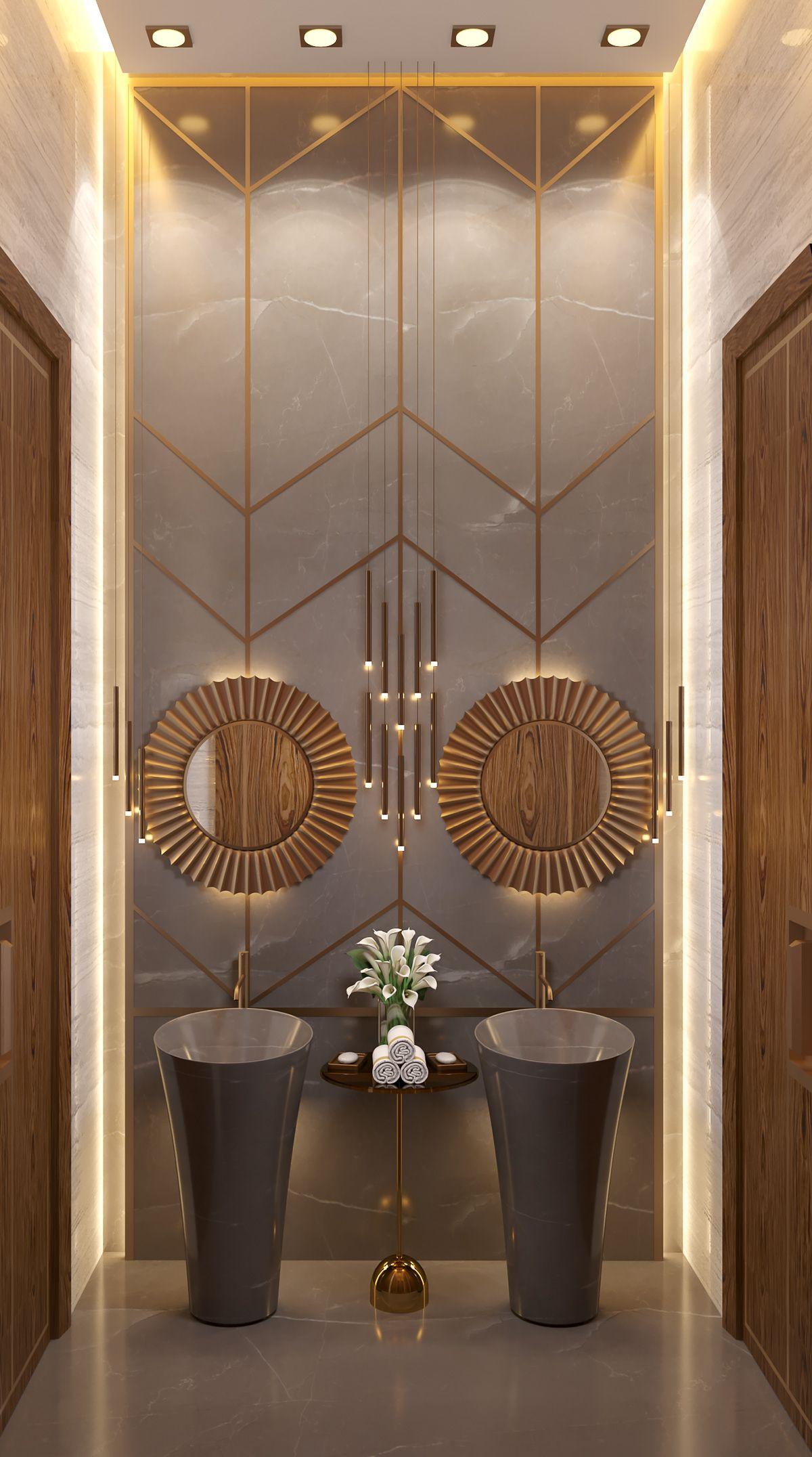 Luxury Toilet Design In Palace On Behance Toilet Luxurydesign Luxurytoilet Grey Marble Gold Luxury Toilet Bathroom Design Luxury Toilet Design