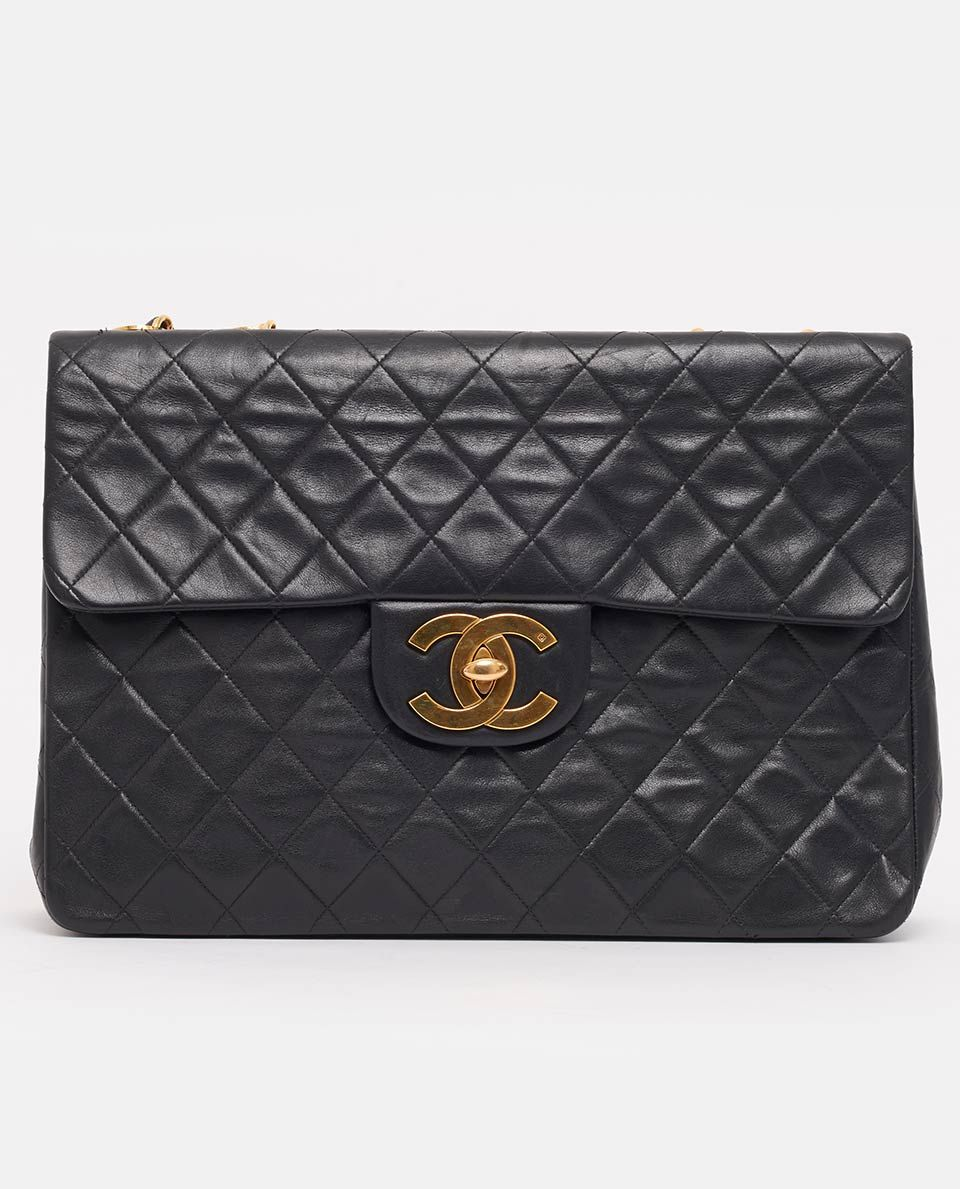5236b747614a This super rare vintage Chanel jumbo bag has become a hit with style mavens  and…