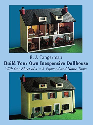 Build your own inexpensive dollhouse dover woodworking also ts rh pinterest