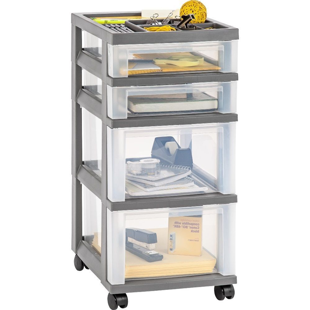 drawers p front whd trippnt gray with inches lockable white x htm polyethylene cart narrow