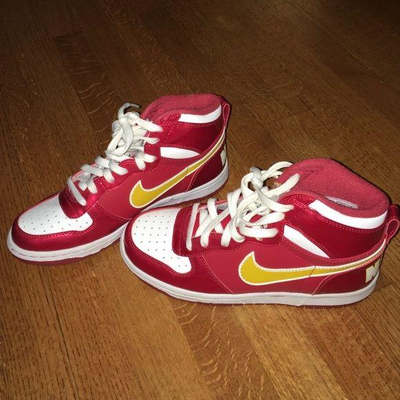 Varsity Red/White Nike High Tops | Nike